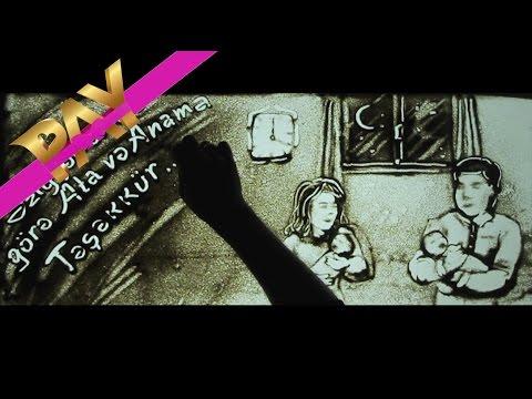 QUM üzerinde HEKAYE (Sand Art Story Baku) - Sifarişlər qəbul edilir: (055) 253 44 94