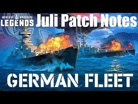Patch Notes zum Juli 2019 Update - World of Warships Legends