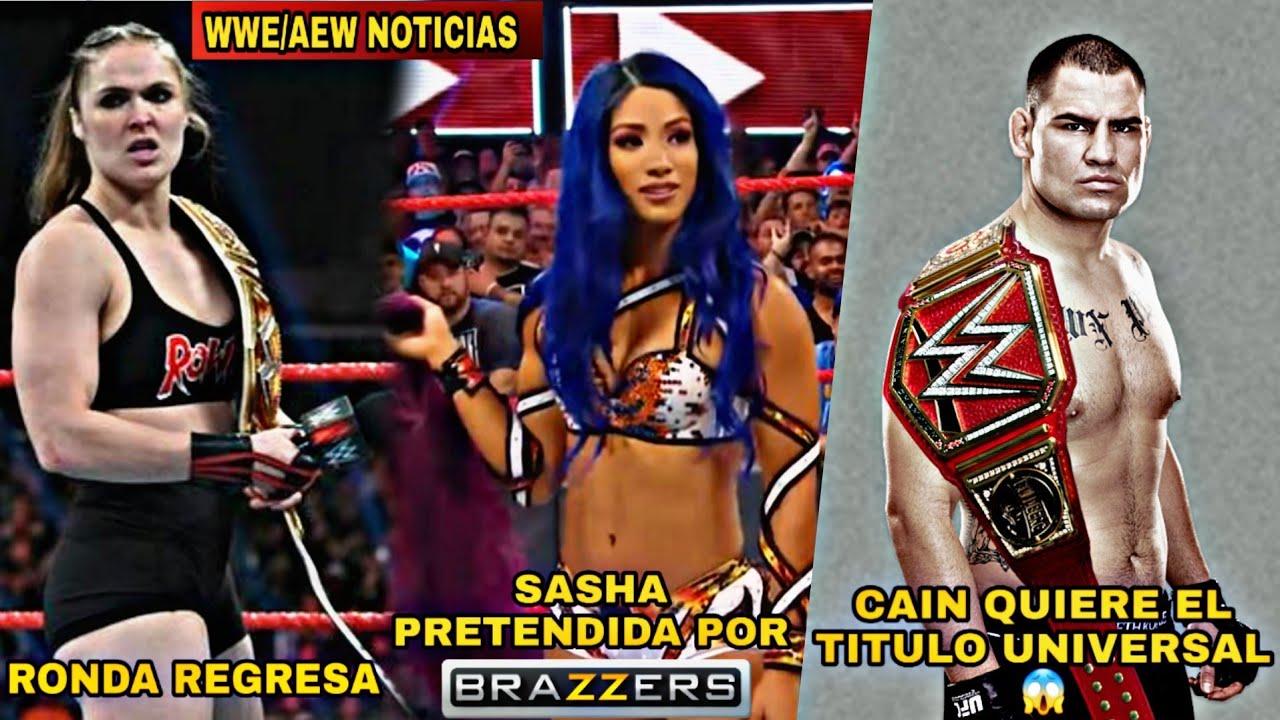 Ronda Rousey Regresa, Sasha Banks al Cine Mayor?, Cain Velasquez Quiere el Campeonato Universal