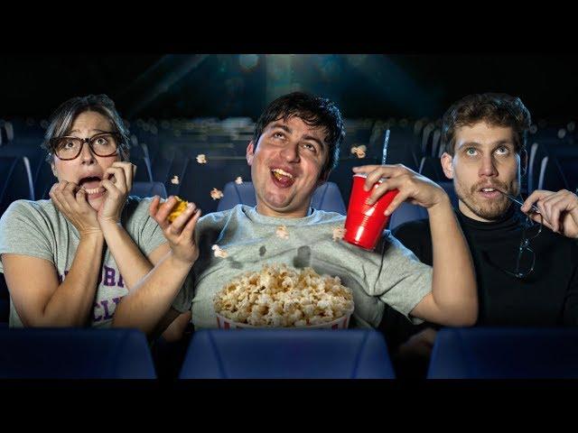 Tipos de personas en el cine