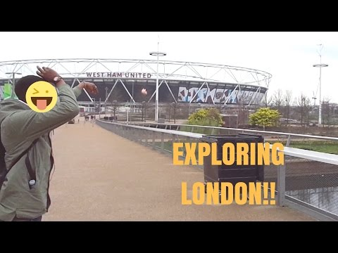 EXPLORING LONDON EP.1!! | OLYMPIC PARK & STRATFORD WESTFIELD