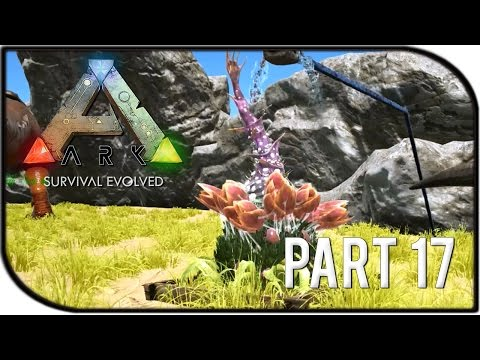 "ARK: Survival Evolved Gameplay Part 17 - ""FULLY GROWN PLANT SPECIES X TURRET!"" (Season 2)"