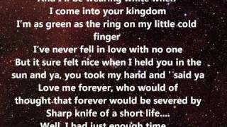 Sam Tsui - If I die young (Lyrics)