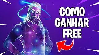 HOW TO WIN THE GALAXY FREE SKIN AT FORTNITE BATTLE ROYALE