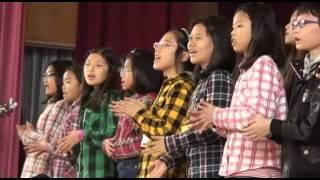 国津小と韓国の子どもたち 交流喜び歌や踊り 名張市