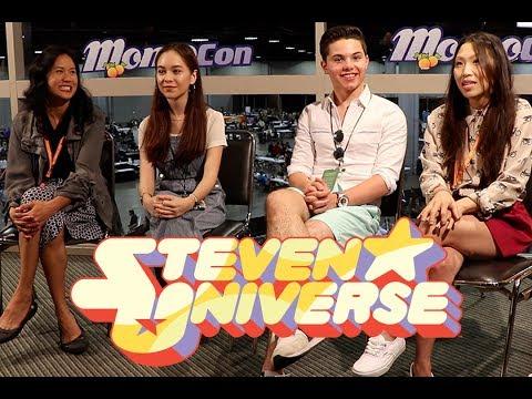 Cast of Steven Universe at MomoCon 2017
