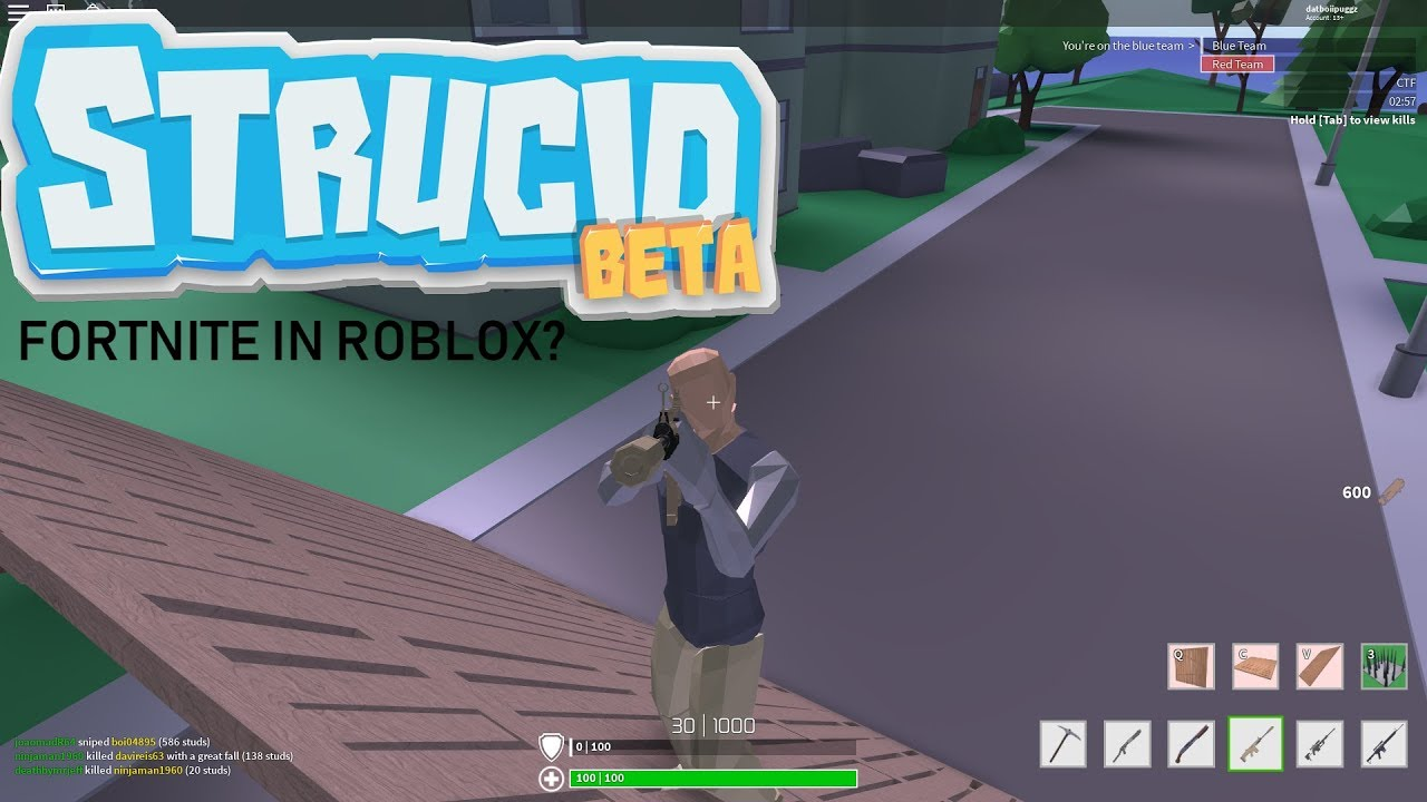 Fortnite in ROBLOX?!?!? BETTER THAN FORTNITE 👌🔥 - YouTube