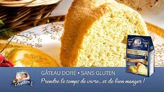 Préparation Gâteau Doré sans gluten de Cuisine lAngélique