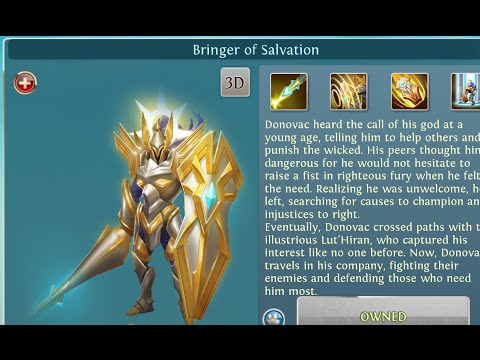 Heroes Of Order & Chaos - Donovac New Hero Gameplay - 5vs5