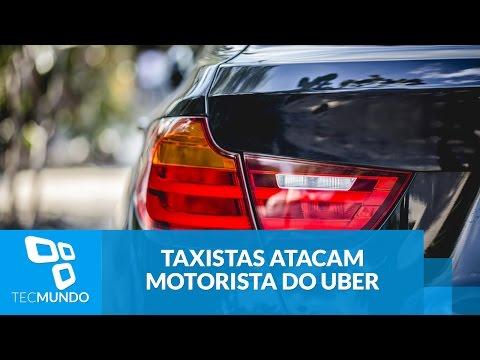 SP: Taxistas Cercam Motorista Do Uber, Destroem Carro E Ferem Passageira