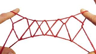 String Tricks! How To Do A 5 Diamond Jacob's Ladder Walkthrough