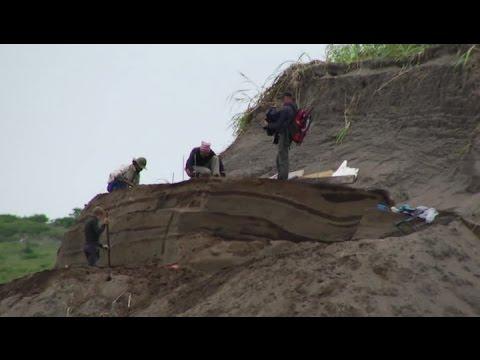 Останки древних людей обнаружили на Курилах