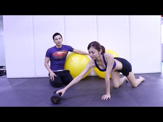 5個方法在家鍛鍊胸肌 (楊奇煜 +范郡庭Tiana)