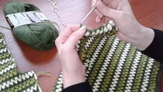 Жакет крючком в стиле Шанель. Часть 3. Сrochet jacket.