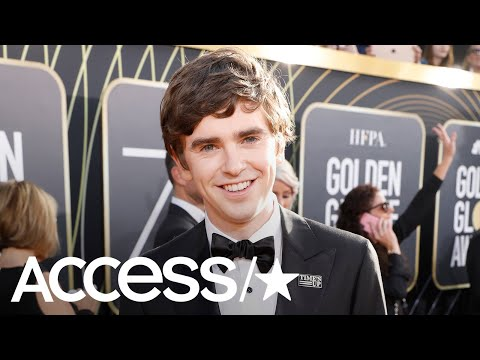 Freddie Highmore Is Excited To Attend The 75th Golden Globe Awards As A Nominee