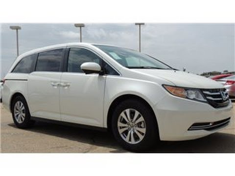2014 honda odyssey ex l white pearl youtube. Black Bedroom Furniture Sets. Home Design Ideas
