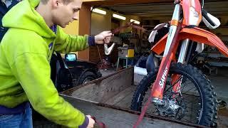 Jak kurtovat motorku