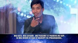 Pilipinas  Got Talent 2018 Auditions:Joven Olvido-Vape Tricks (Robin hits the GOLDEN BUZZER)
