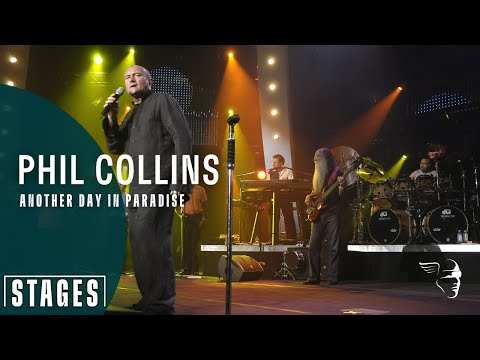 Phil Collins - Another day in paradise (Live at Montreux 200