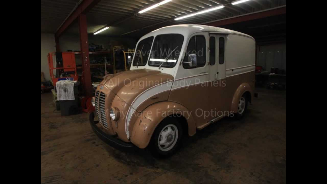 Divco Milk Truck For Sale wmv by Ken C