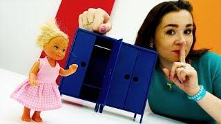 Видео с #Барби для девочек. Штеффи осталась дома одна. Кому можно открывать дверь? Игры для детей