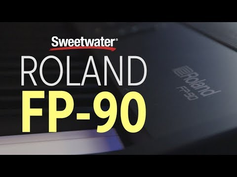 Roland FP-90 Digital Piano - Black | Sweetwater