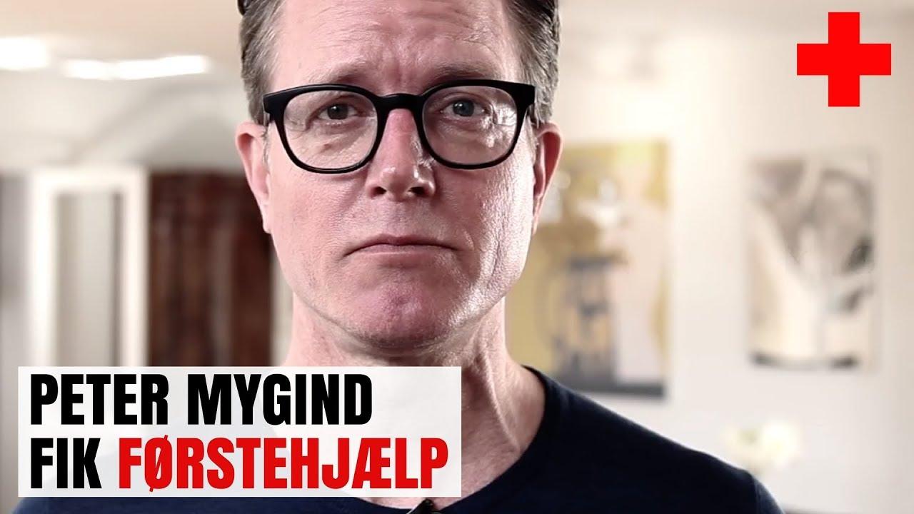 Peter Mygind fik førstehjælp