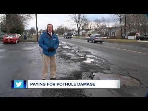 How to get your money back for pothole damage