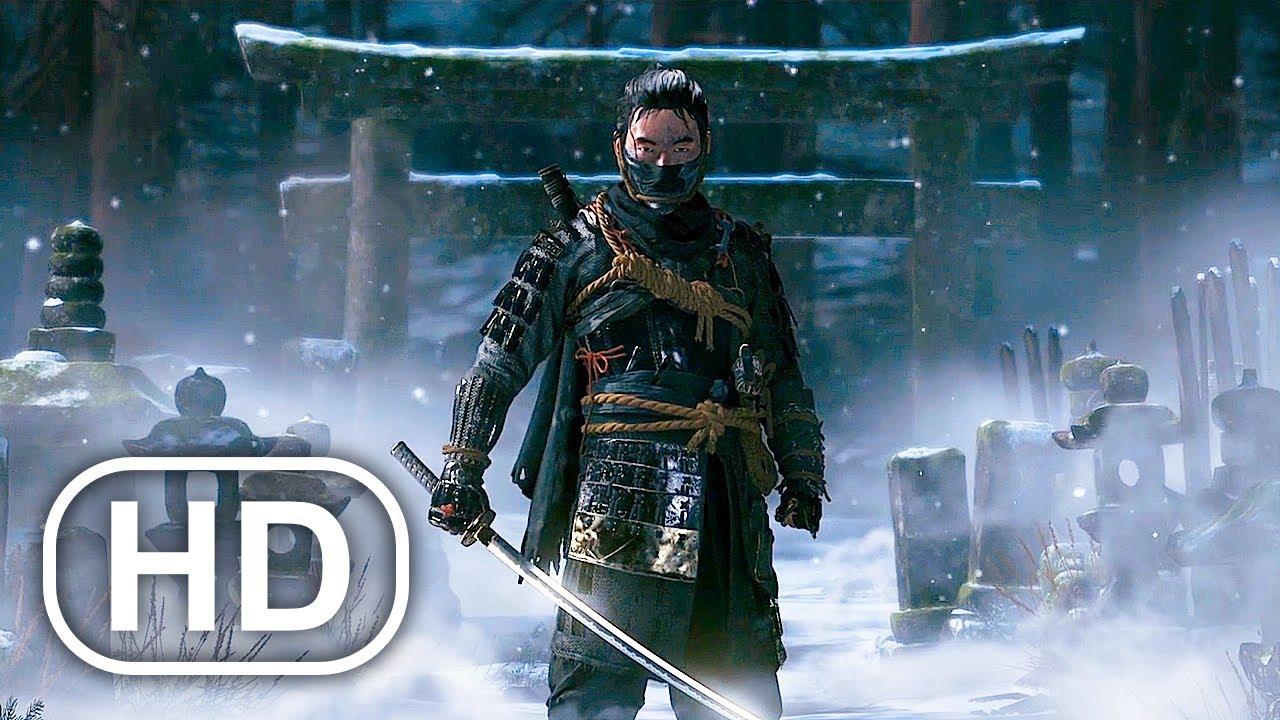 Download GHOST OF TSUSHIMA Full Movie Cinematic (2021) 4K ULTRA HD Samurai Action