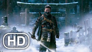 GHOST OF TSUSHIMA Full Movie Cinematic (2021) 4K ULTRA HD Samurai Action