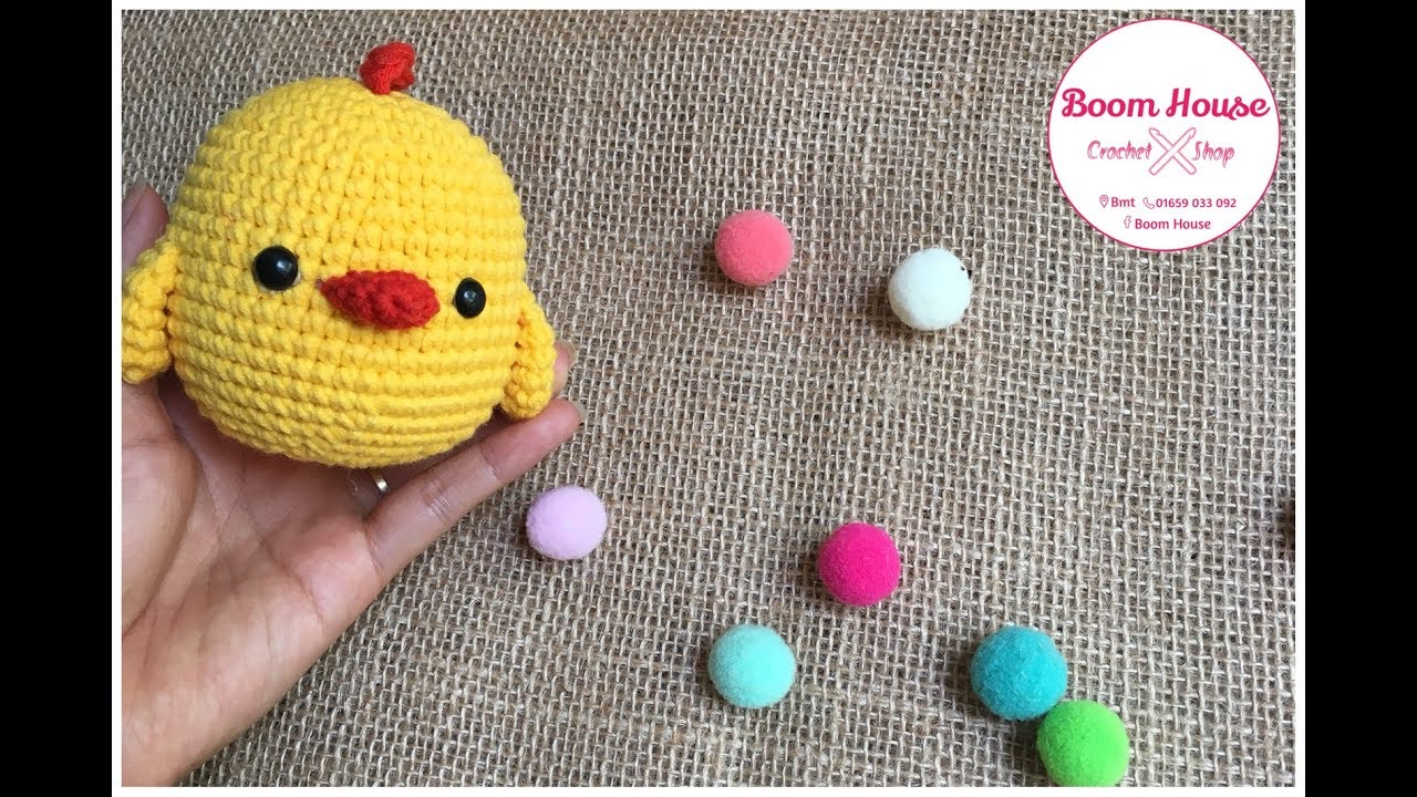 Crochet chicken l Móc Gà con l Boom House