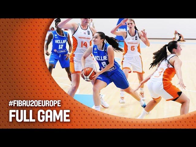 Ευρωπαϊκό Πρωτάθλημα Νέων Γυναικών | Live  ο αγώνας ΕΛΛΑΔΑ - Ολλανδία  (18:15, 12.07.2016) (3η αγωνιστική  - Ματοσίνιος, Πορτογαλία)