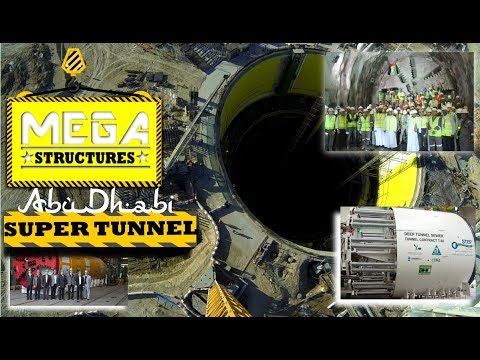 MEGA Structure:Abu Dhabi SUPER TUNNEL  By NatGeo🏭 हिंदी