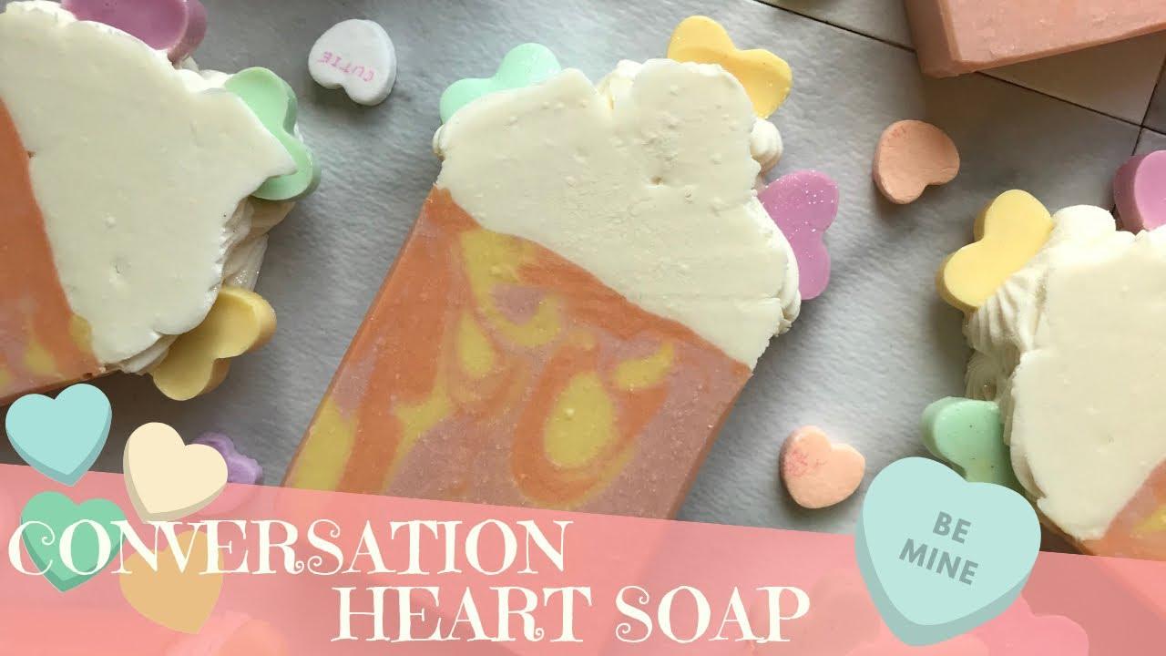 Making Be My Sweetheart Soap | 💛 GYPSYFAE CREATIONS
