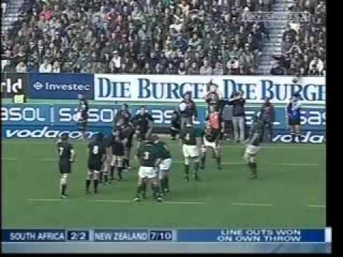 2005 - All Blacks v Sudafrica - 3N - Test Match