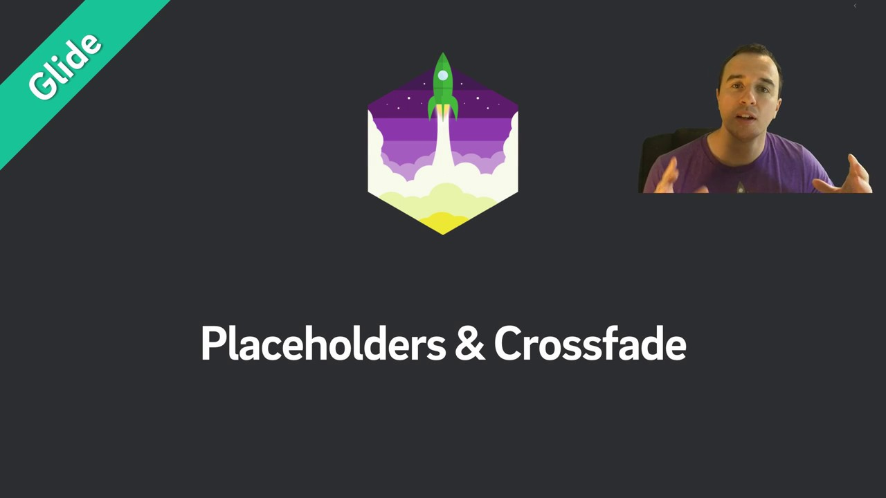 Glide — Placeholders & Fade Animations