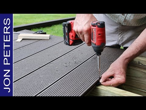 5 Quick Tips for Installing Composite Decking by Jon Peters