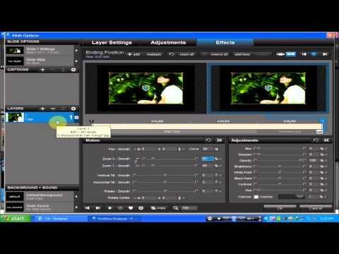 Hướng Dẫn Tạo Styles Proshow Producer 5.0  P1