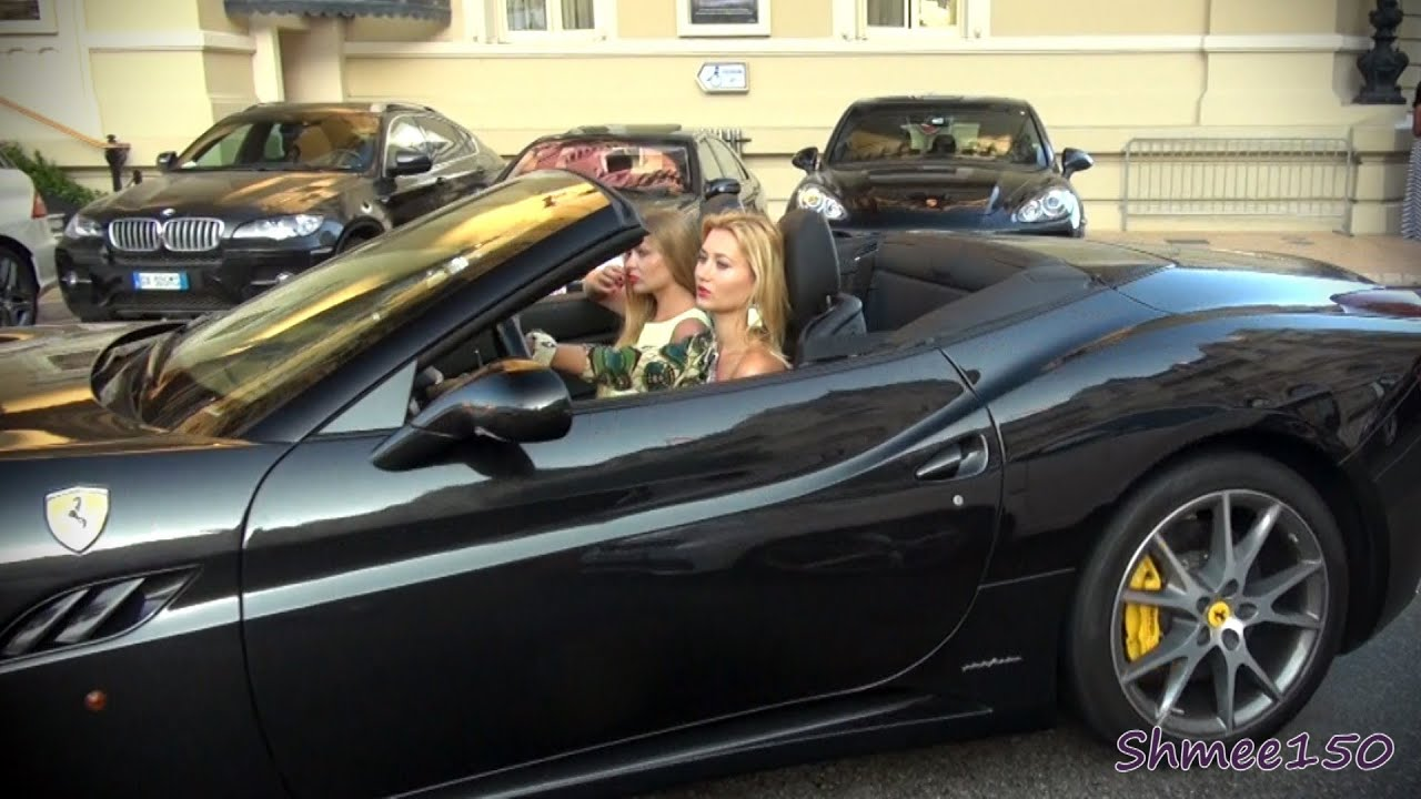 Girls Driving Supercars  Gto Mansory Stallone Sls Roadster Dbs Volante And More Youtube