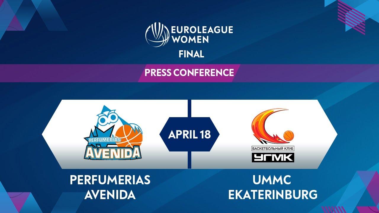 Press Conference - FINAL: Perfumerias Avenida v UMMC Ekaterinburg | EuroLeague Women 2020