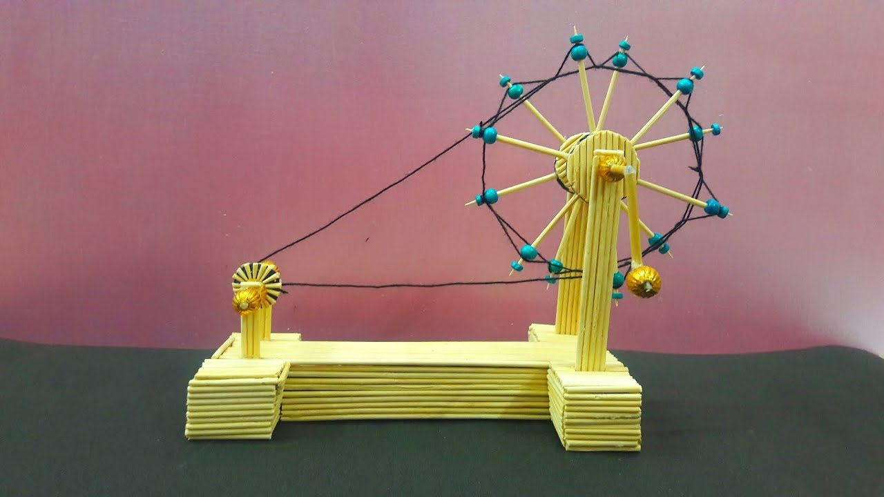 Gandhi Ji Charkha (3D) Model