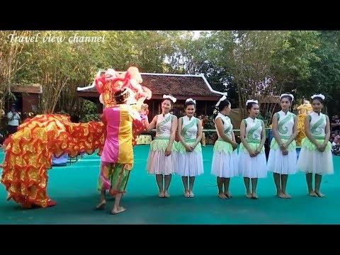 Cambodian Travel | Cambodia Cultural Village | Chinese Art At Siem Reap Angkor #2