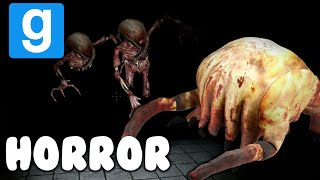 GMOD HORROR W/ Entoan | ZOMBIES EVERYWHERE! | HUNT (6)