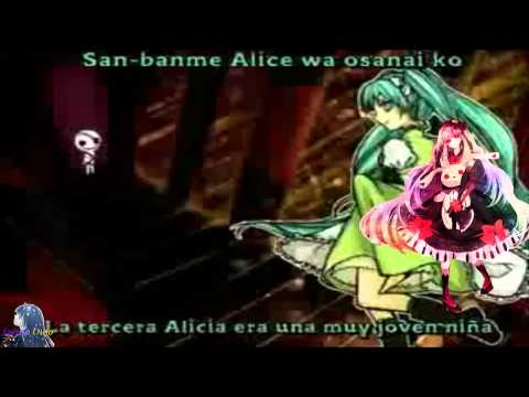 Alice Sacrifice the Human [oliver, mayu, merli, aoki & kaai]
