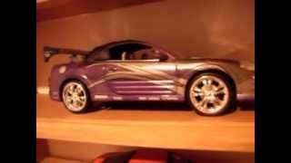 scale diecast cars fast furious rapido y furioso carros a escala 1/18