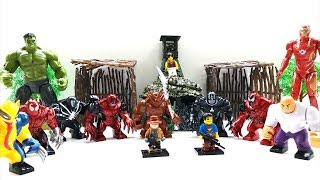 Hulk, Ironman, Lego, venom. Toys for Kids. 99 TOYS. Part 1.