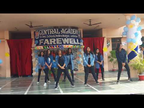 Farewell 2k18 central academy indira nagar