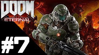 DOOM ETERNAL Walkthrough Gameplay Part 7 - Mars Core Mission - PS4 No Commentary
