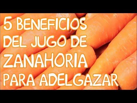 5 beneficios del jugo de zanahoria para adelgazar |APERDERPESO.COM