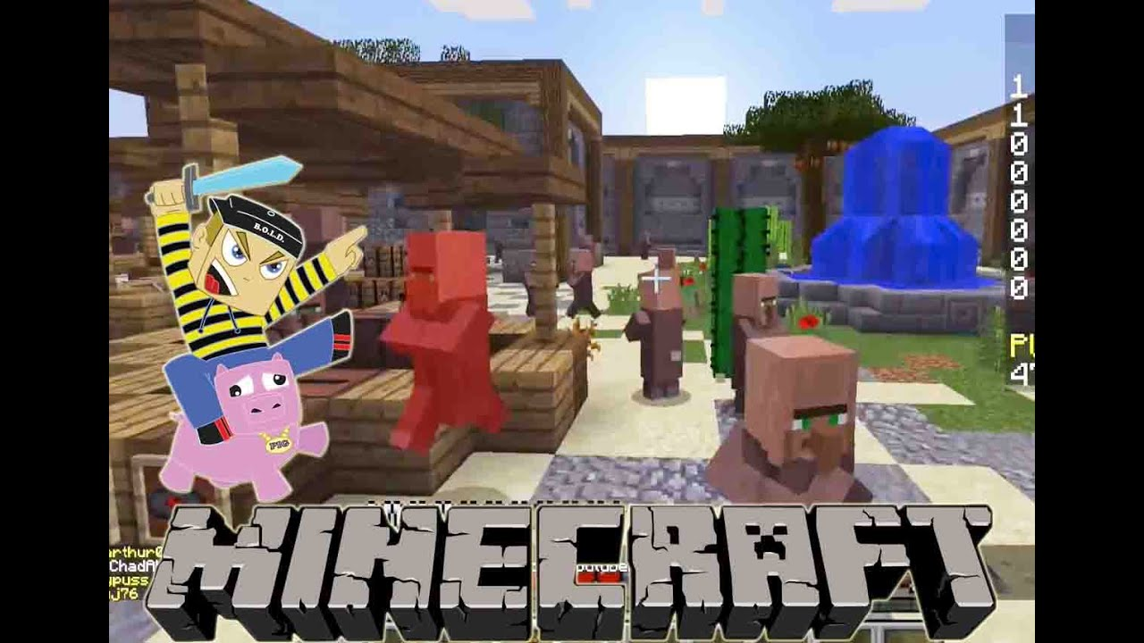 Minecraft Let S Play Sneaky Assassins Mini Game On